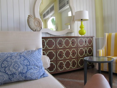 Love the texture and style of this room we stayed in while visiting St. Maarten.