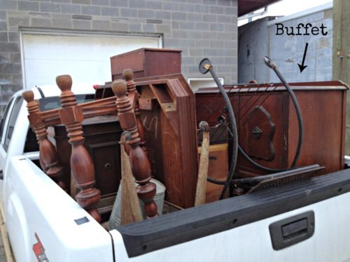 Truckload of treasure