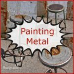 Painting Metal with American Paint Company Fireworks red