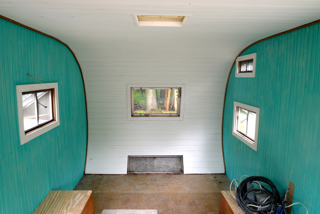 Camper Painted Walls