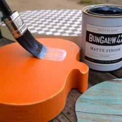 Decoupage with Bungalow 47™ Matte Finish