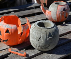 Making and Painting Cement Pumpkins Using Bungalow 47™ Furniture Paint