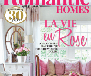 Bungalow 47 Featured in Romantic Homes Magazine