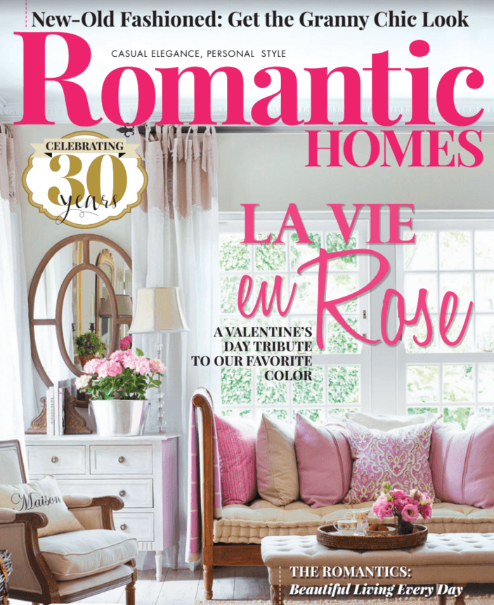 Romantic Homes, February 2017 issue