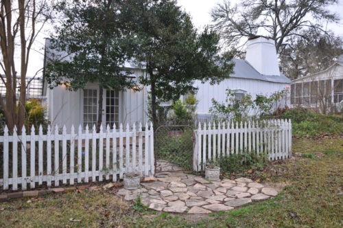 The adorable Blue Bonnet Cottage we stayed in!