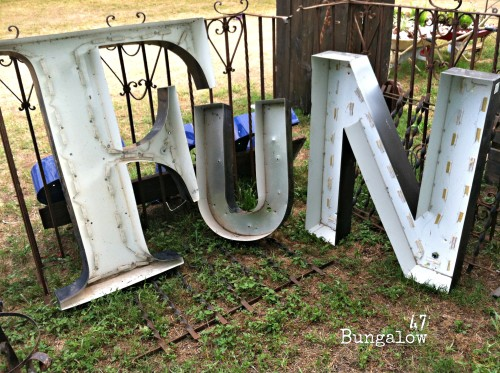Fun with salvage letters