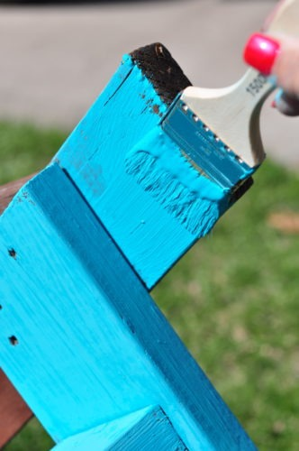 Painting Outdoor Furniture