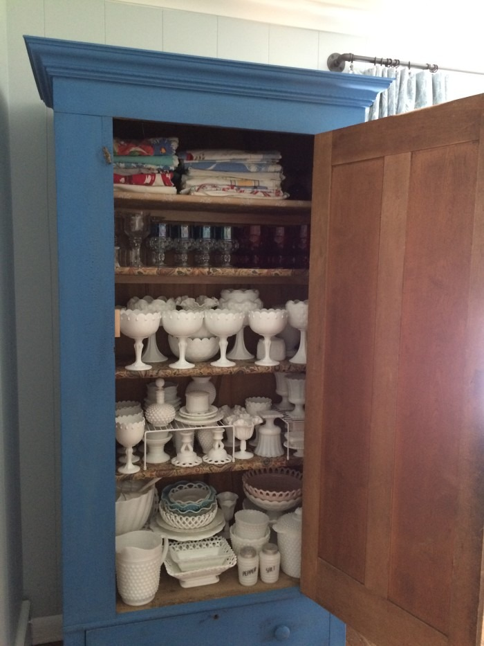 cabinet with shelves