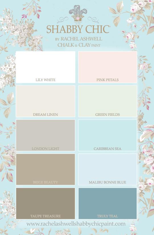 Shabby Chic® Paint - 10 Gorgeous Colors!