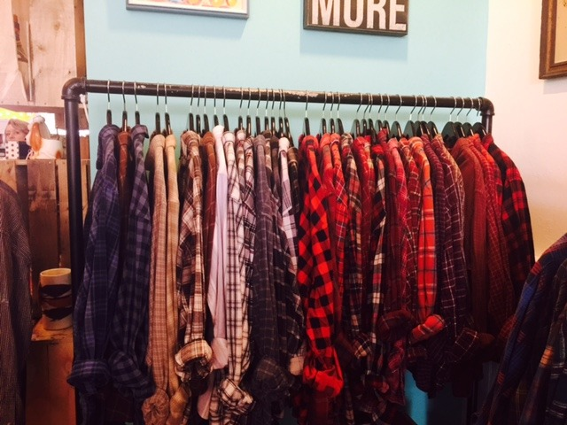 Vintage Boyfriend Flannels at Bungalow 47