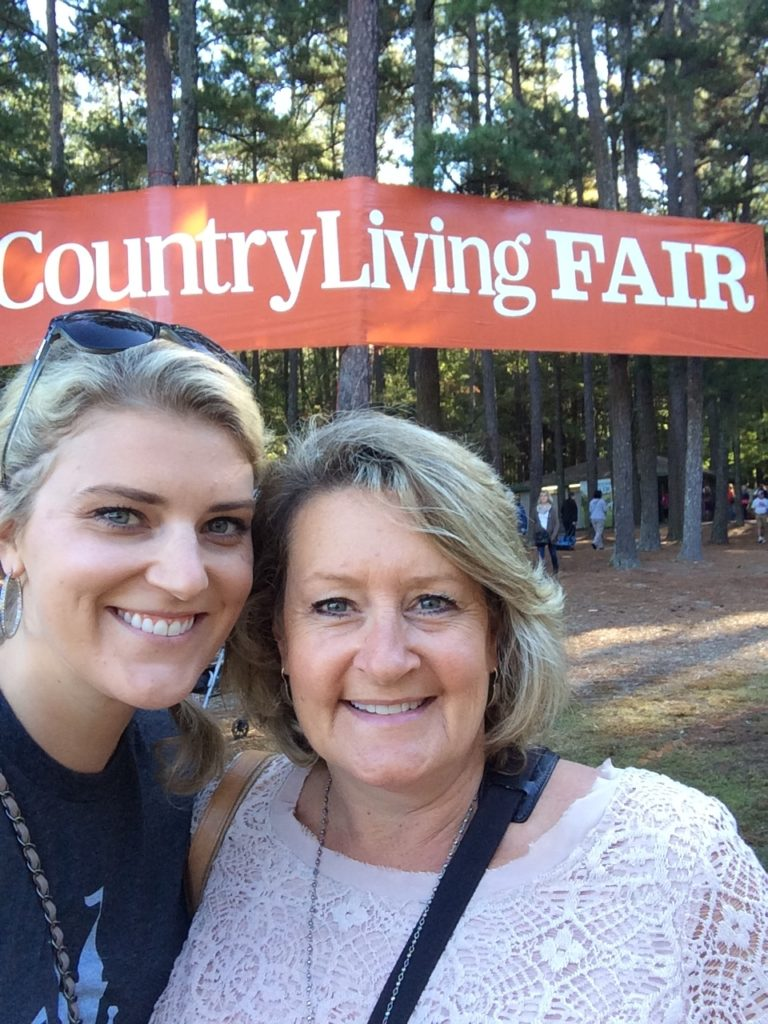 Country Living Fair with a B47 Crew Member