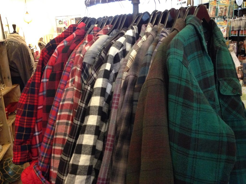 Vintage Quilted Flannels at Bungalow 47