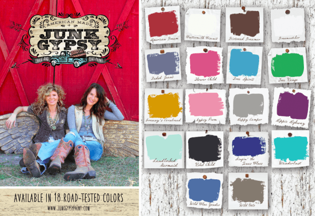 Junk Gypsy Paint - 18 colors