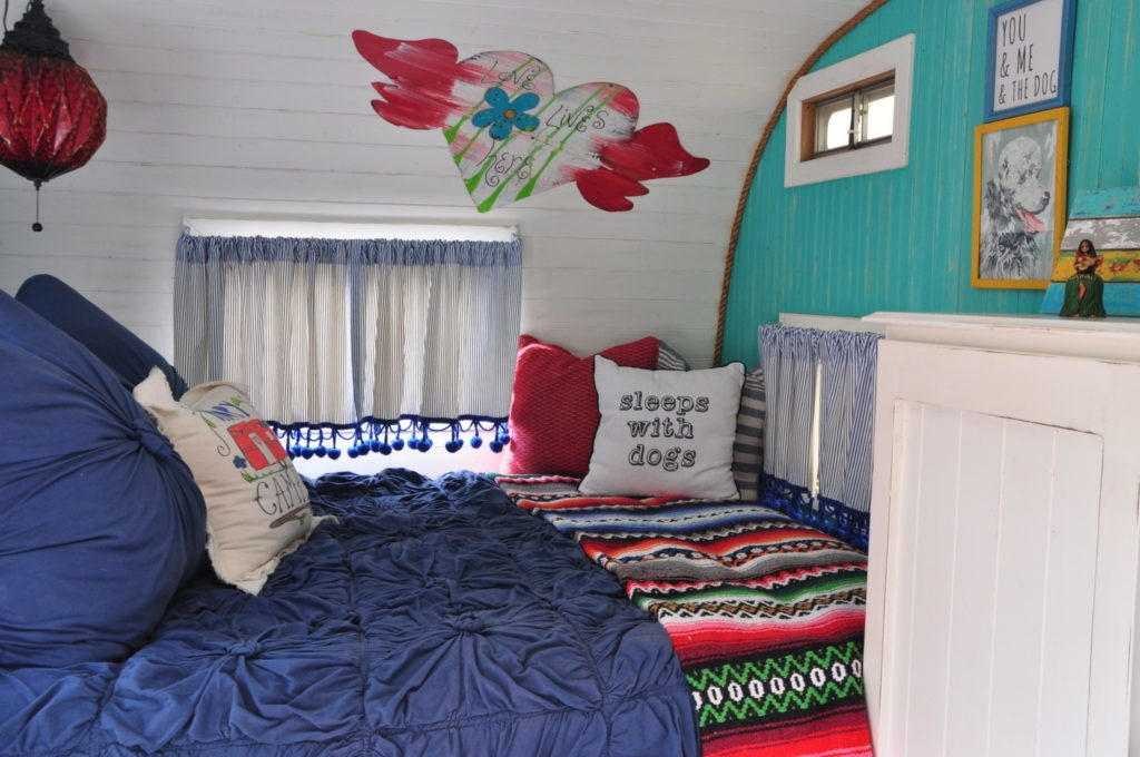 Styling a vintage camper the Bungalow 47 way