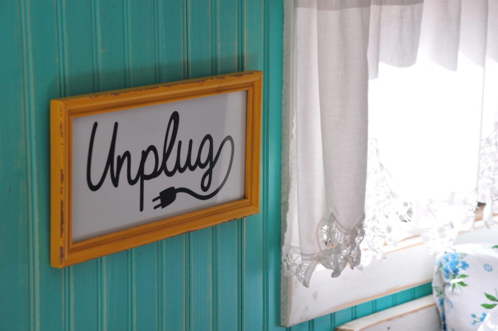 Unplug and camp in style
