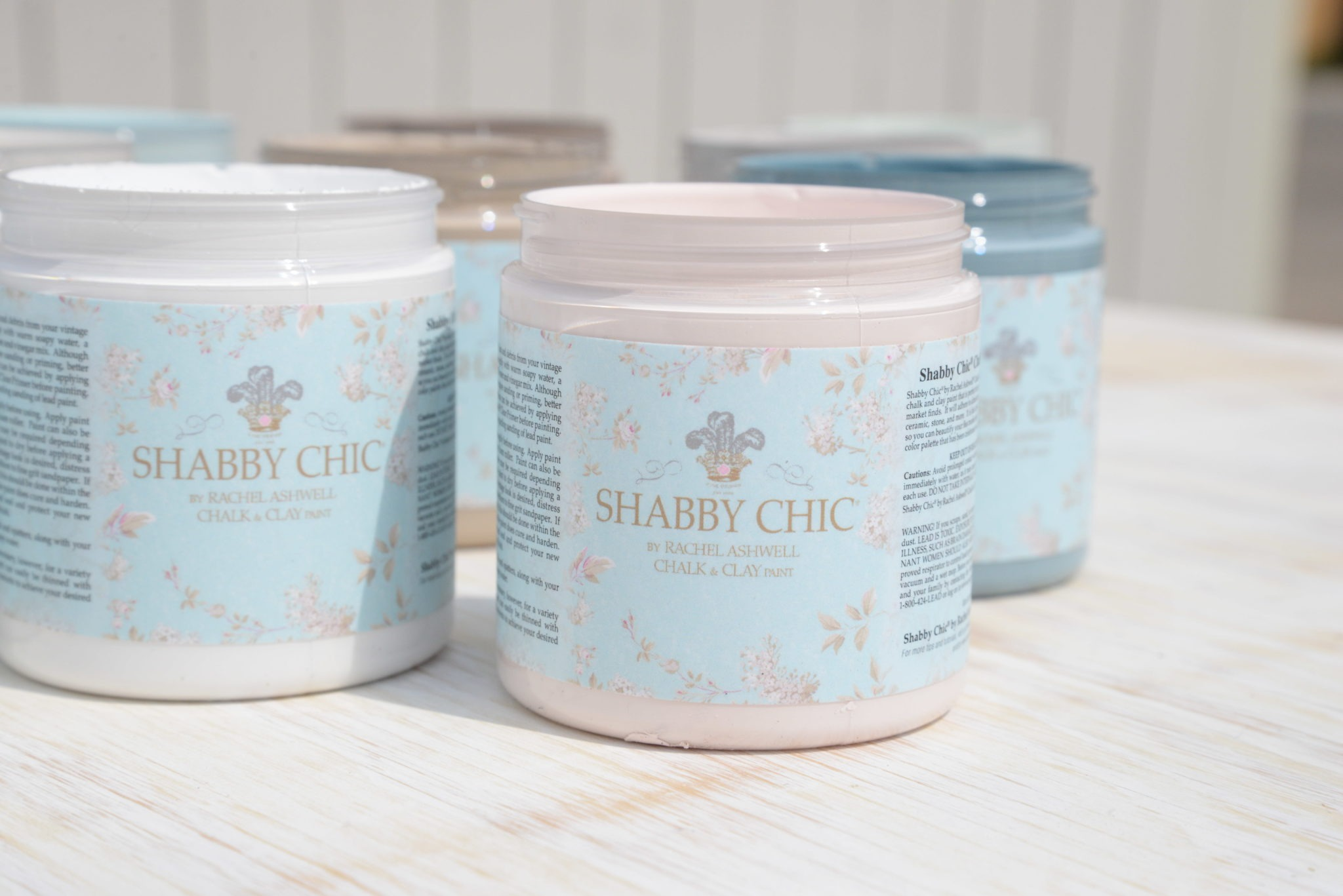 Shabby Chic Colors For Walls : Shabby chic by rachel ashwell paint samples bungalow