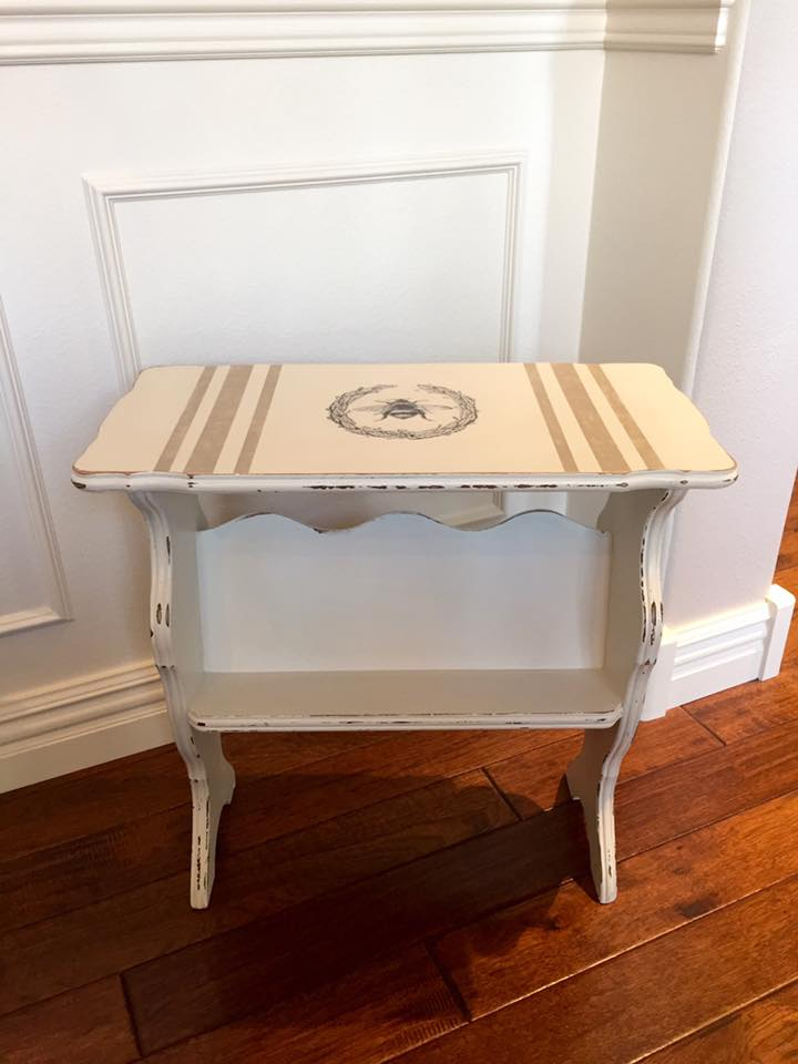 Hand Painted using Rachel Ashwell's Shabby Chic Paint