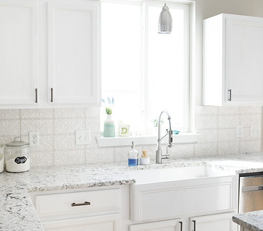 A Kitchen Makeover – Painting Kitchen Cabinets